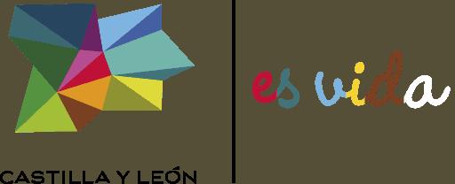 Castilla y León es vida logo horizontal