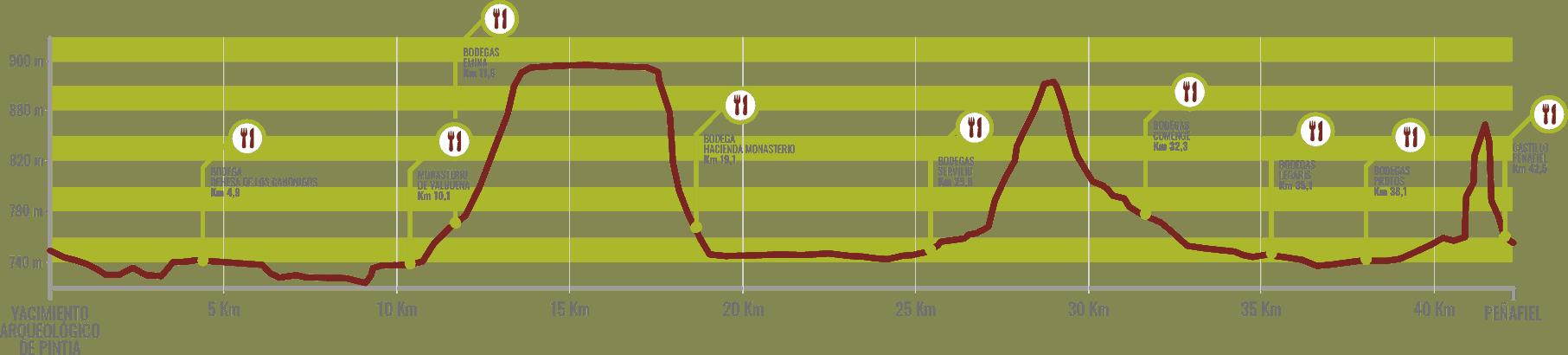 Ribera Run Perfil de carrera